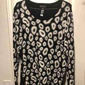 Forever 21 Tops - Cheetah Sweater